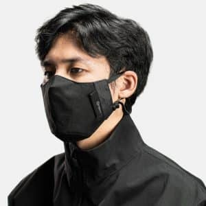 ORBIT GEAR-W210-A Face Shield Mask-Black